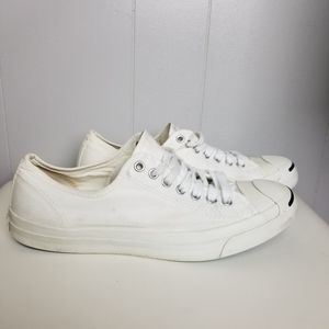Converse Jack Purcell Canvas Low Sneakers 10.5